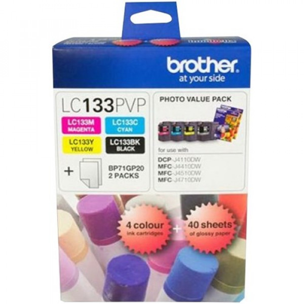 Brother LC133 Photo Value Pack