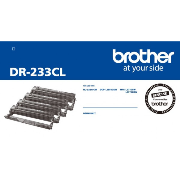 Brother DR233CL Drum Unit 4pk