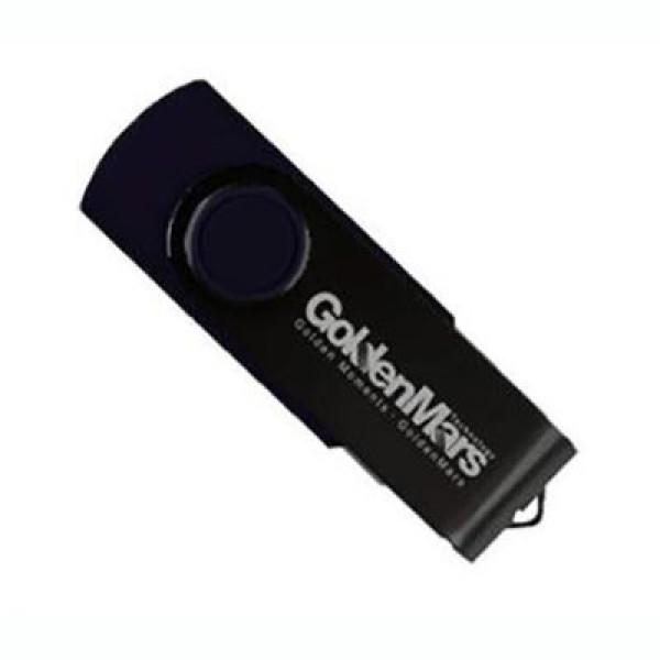 GOLDEN MARS USB 2.0 FLASH DRIVE 128GB BLACK