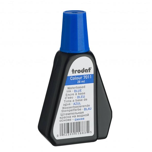 *TRODAT* R/Stamp Ink 28ml 7011 Blue