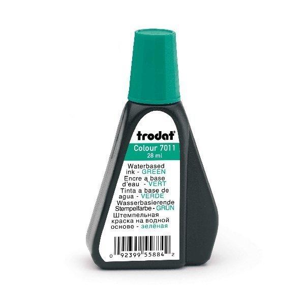 *TRODAT* R/Stamp Ink 28ml 7011 Green
