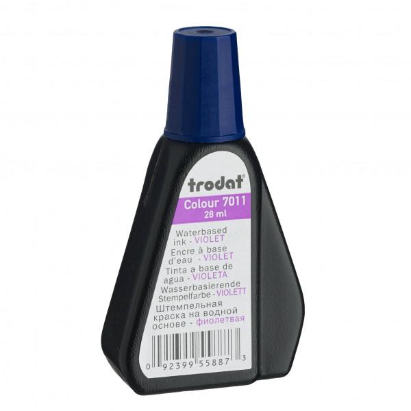 *TRODAT* R/Stamp Ink 28ml 7011 Violet