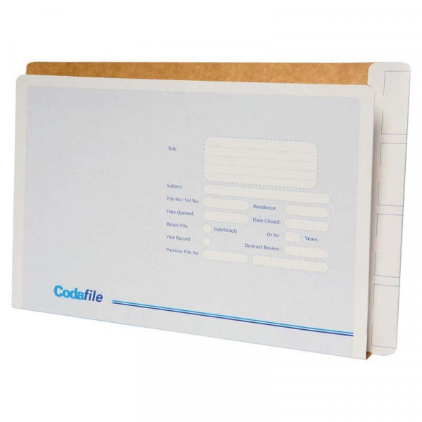 Codafile File Standard With Left Hand Pocket Box 50
