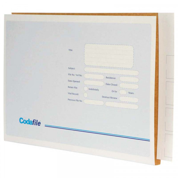 Codafile File Extra Large 45mm Box 100
