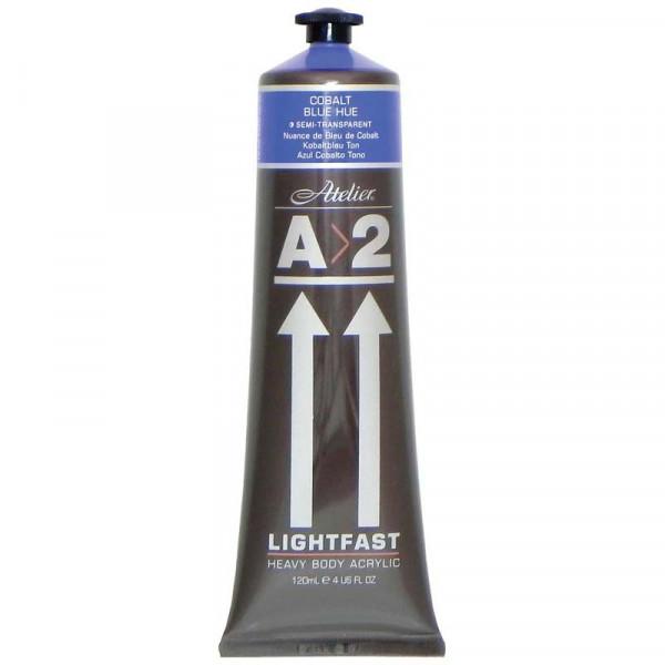 A2 Lightfast Heavybody Acrylic 120ml Cobalt Blue