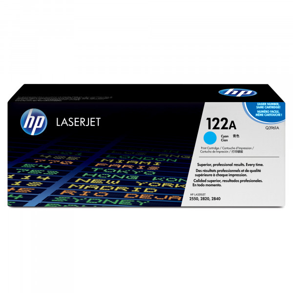 HP #122A HY Cyan Toner Q3961A