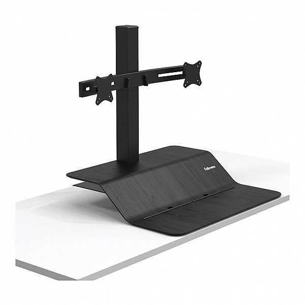 Fellowes Sit Stand Workstation - Lotus™ VE - DUAL Monitor