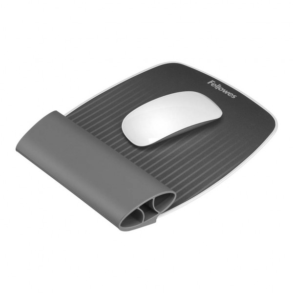 Fellowes Ispire - Wrist Rocker Mousepad - Grey  (Orders will Backorder and Dispatch late May 2020)