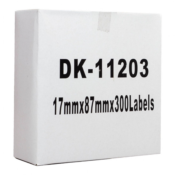 """""""BEST BUY"""" Icon Compatible Brother DK-11203 Label Standard Address 17 x 87mm 300 Labels"""