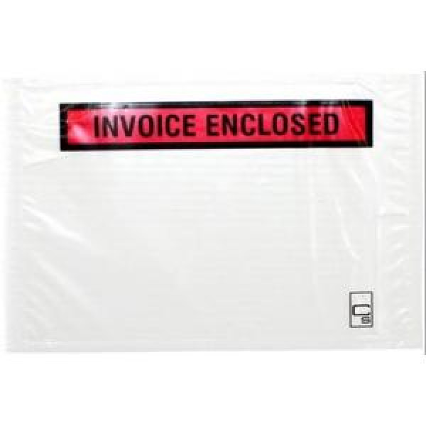 Cumberland Labelopes Invoice Enclosed 155x115mm Pack 100